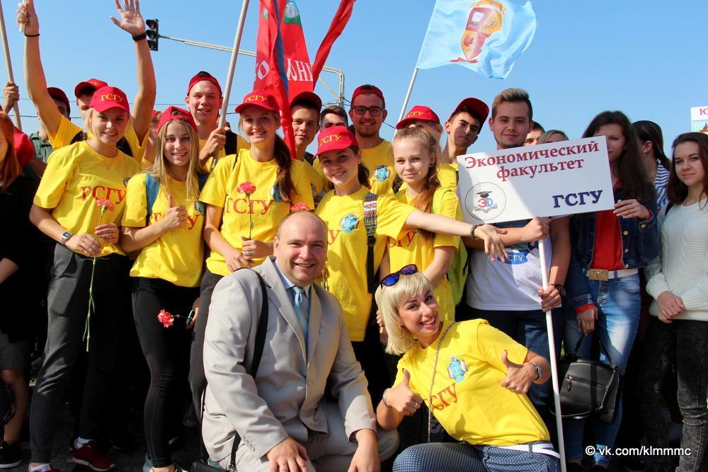 Коломенских первокурсников официально посвятили в студенты