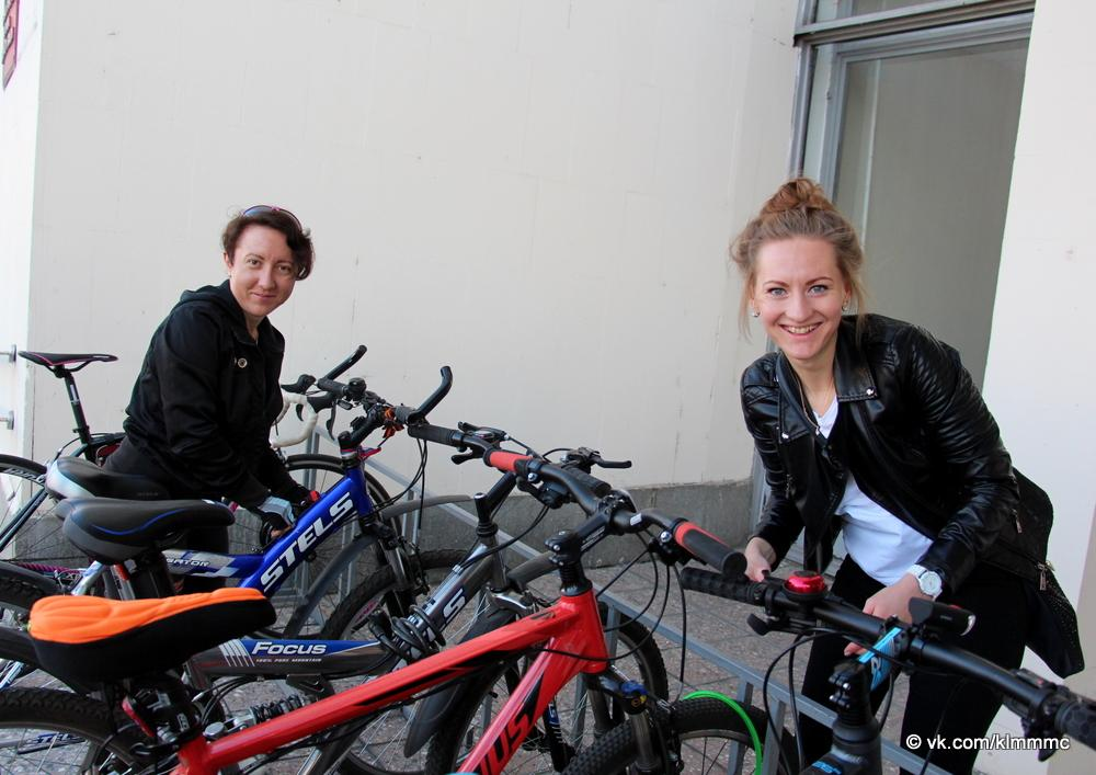 Новости Коломны   Коломенцы отправились по делам на велосипедах Фото (Коломна)   iz zhizni kolomnyi