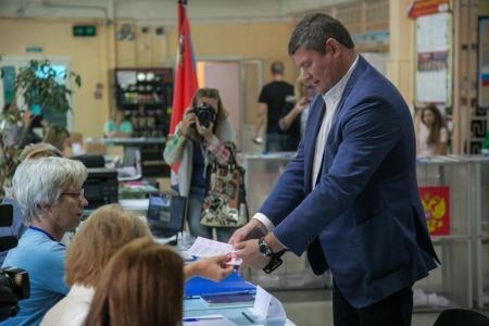 Результаты выборов губернатора Московской области в Коломенском городском округе