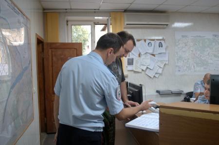 Член Общественного совета при УМВД России по Коломенскому городскому округу посетил Дежурную часть