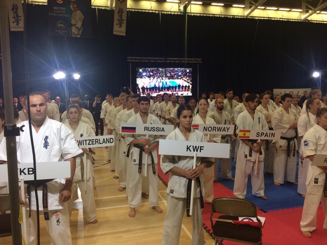 Бронзу Х кубка Европы по киокусинкай завоевал студент ГСГУ