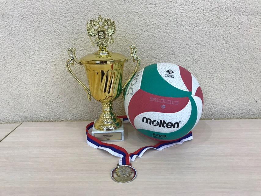 Спортсмены клуба «Спектра» завоевали «серебро» на Чемпионате России по волейболу сидя