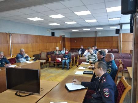 18 октября 2018 г. проведено очередное заседание Комиссии по предупреждению и ликвидации ЧС и обеспечению пожарной безопасности Коломенского г.о.