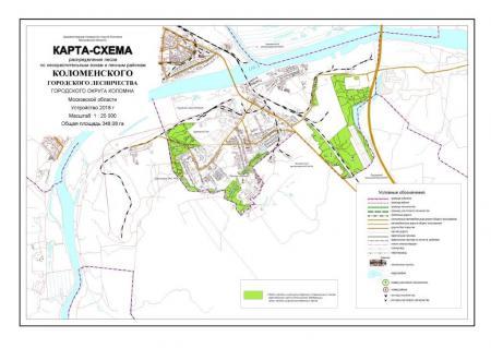 Лесохозяйственный регламент Коломенского городского лесничества