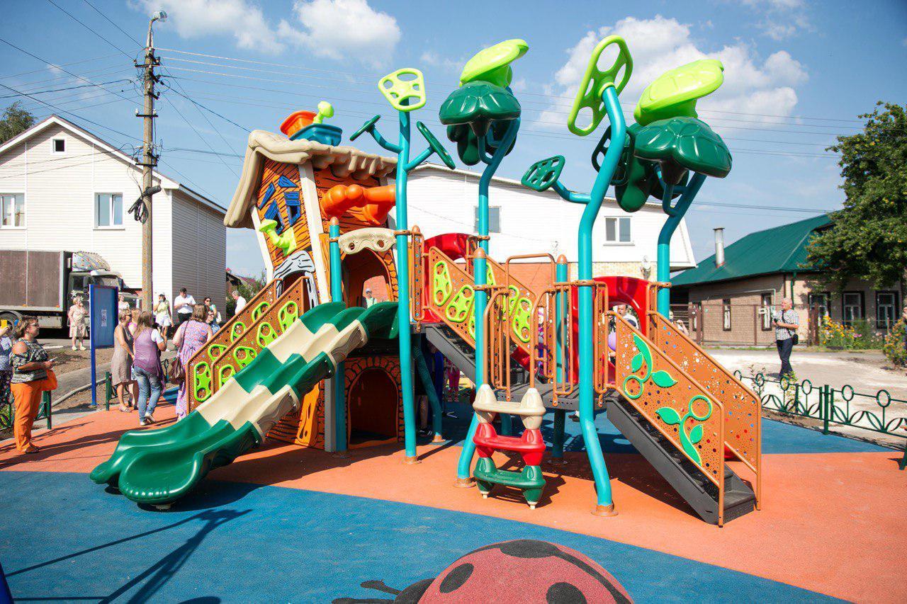 36 дворов благоустроено в Коломенском городском округе в 2018 году