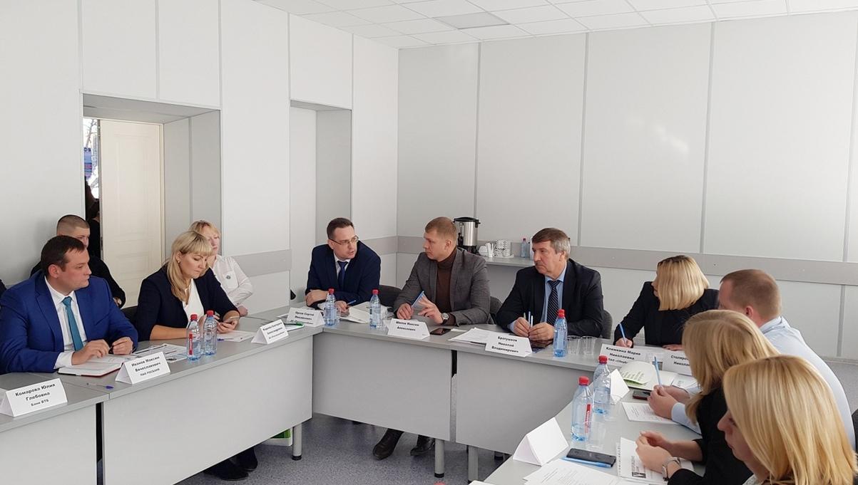 Предприниматели Коломны встретились с банковским сообществом