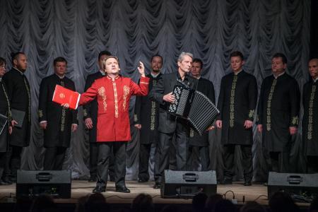 Коломенцы услышали новую программу Валаамского хора