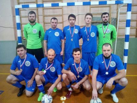Команда «Коломенец» заняла второе место в межрегиональном турнире по мини-футболу
