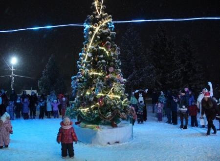 В Щурово прошёл праздник «Зима в Подмосковье»