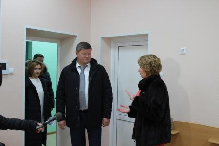 Глава округа Денис Лебедев осмотрел объекты капремонта