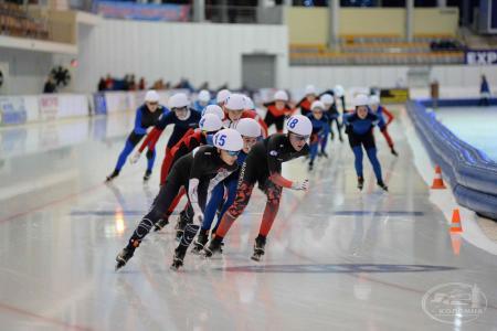 Конькобежный центр «Коломна» принимал участников первенства России