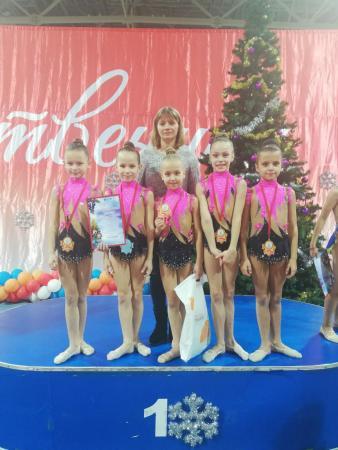 Коломенские гимнастки завоёвали «золото» и «бронзу»