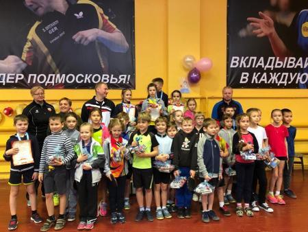 Успешное выступление юных теннисистов