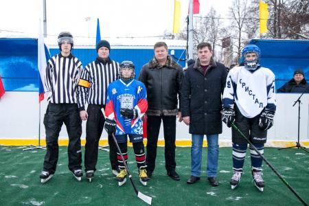 Многофункциональная спортивная площадка открылась в Коломне