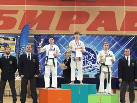 16 медалей завоевали коломенские спортсмены на чемпионате и первенстве Московской области по киокусинкай карате
