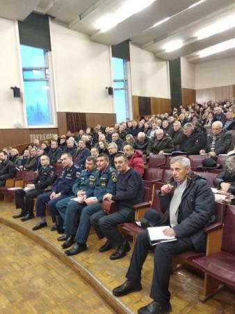 Заседание Антитеррористической комиссии Коломенского городского округа 21 декабря 2018 года