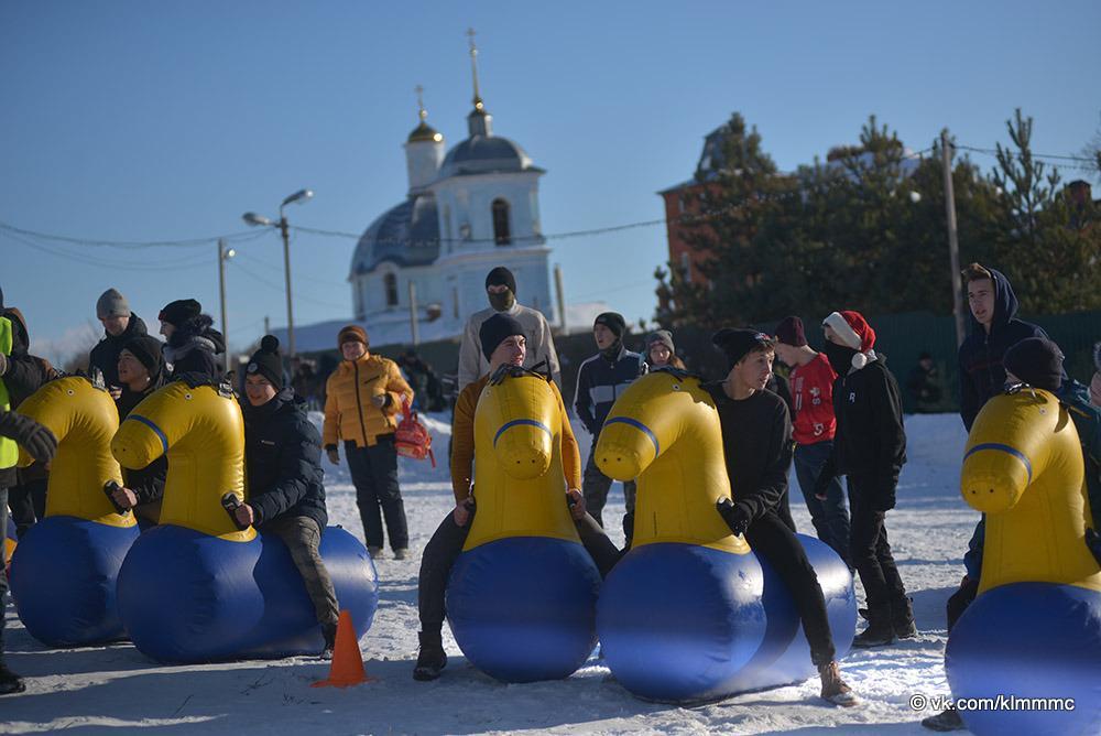 Новости Коломны   Коломенцы приняли участие в народных гуляниях по случаю Крещения Фото (Коломна)   iz zhizni kolomnyi