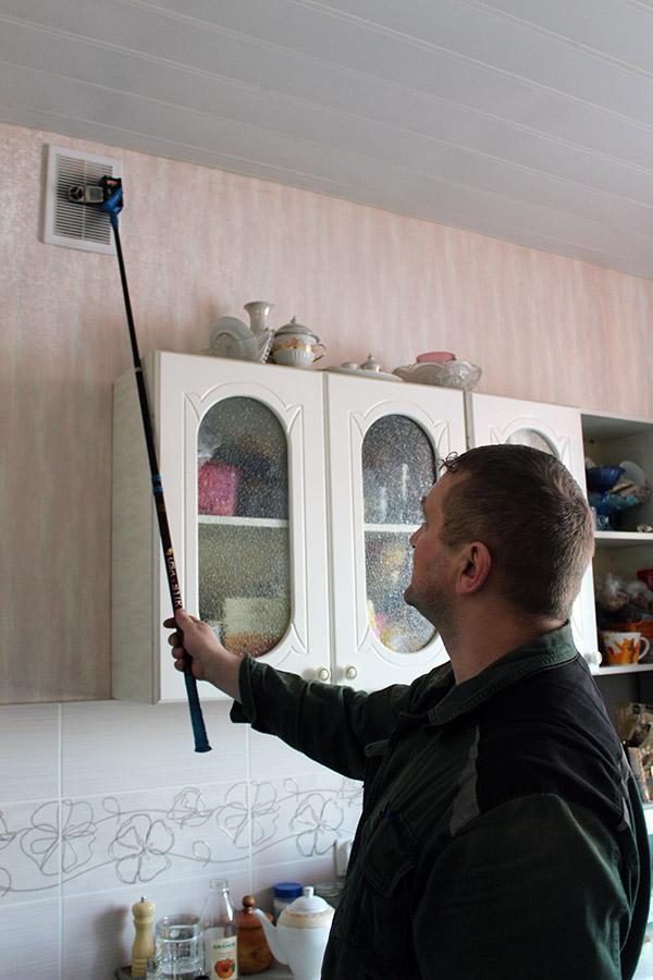Проверка дымоходов и вентиляционных каналов в коломне труба для дымохода из нержавейки цена 110