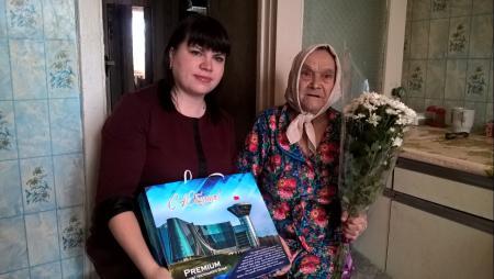 Жительница села Шеметово отметила 90-летний юбилей