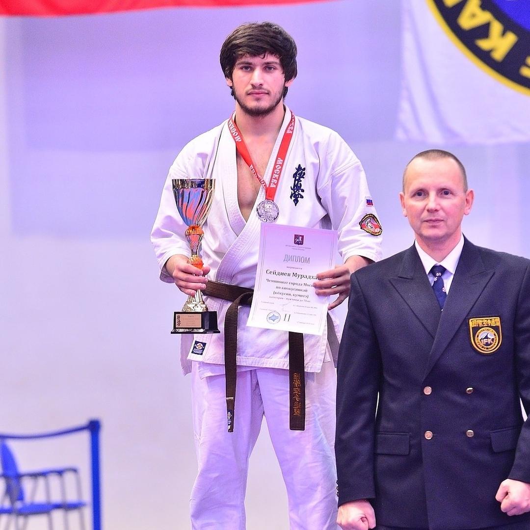 Коломенский спортсмен претендует на премию Федерации киокусинкай России
