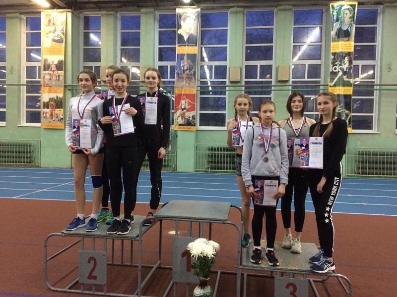Коломенские легкоатлеты успешно выступили в Рязани