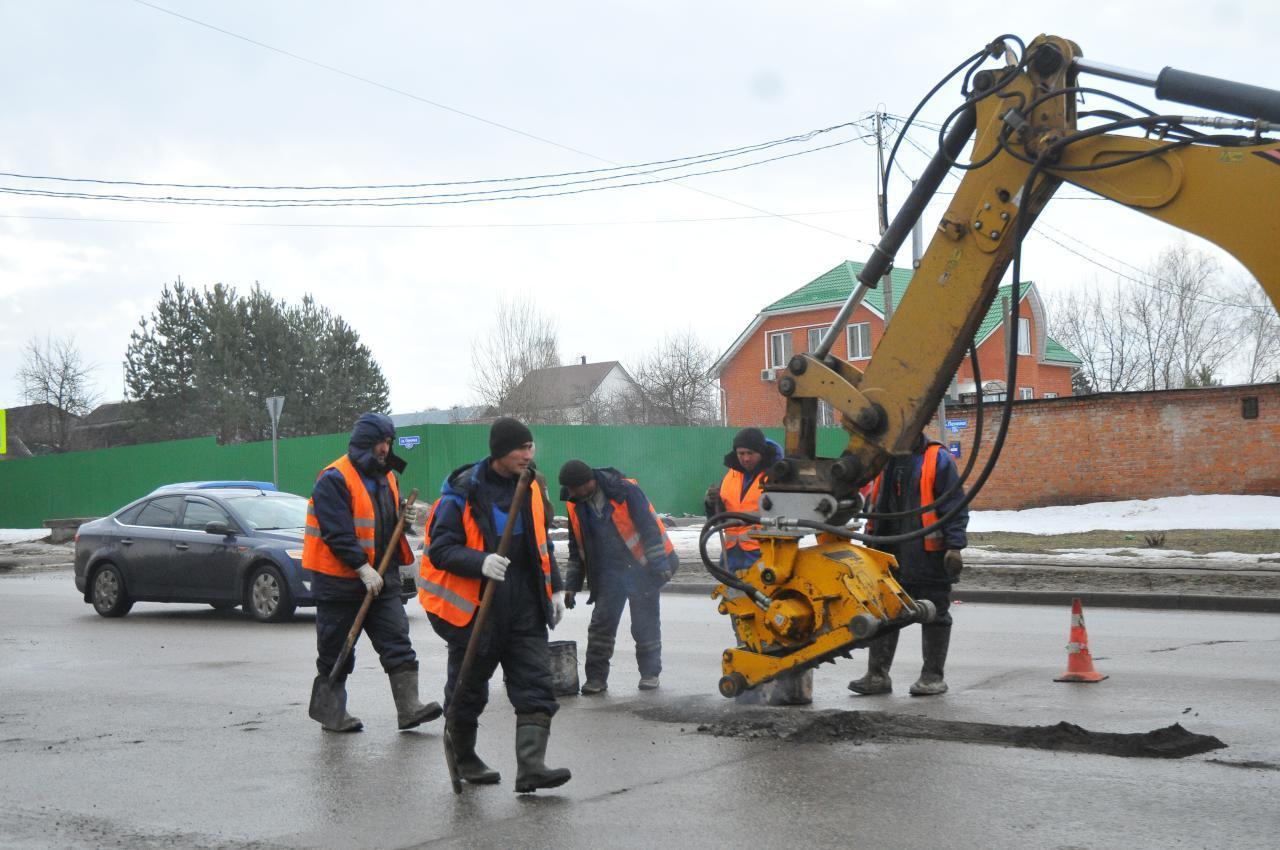 Новости Коломны   В Коломенском городском округе активно ведётся ямочный ремонт Фото (Коломна)   iz zhizni kolomnyi