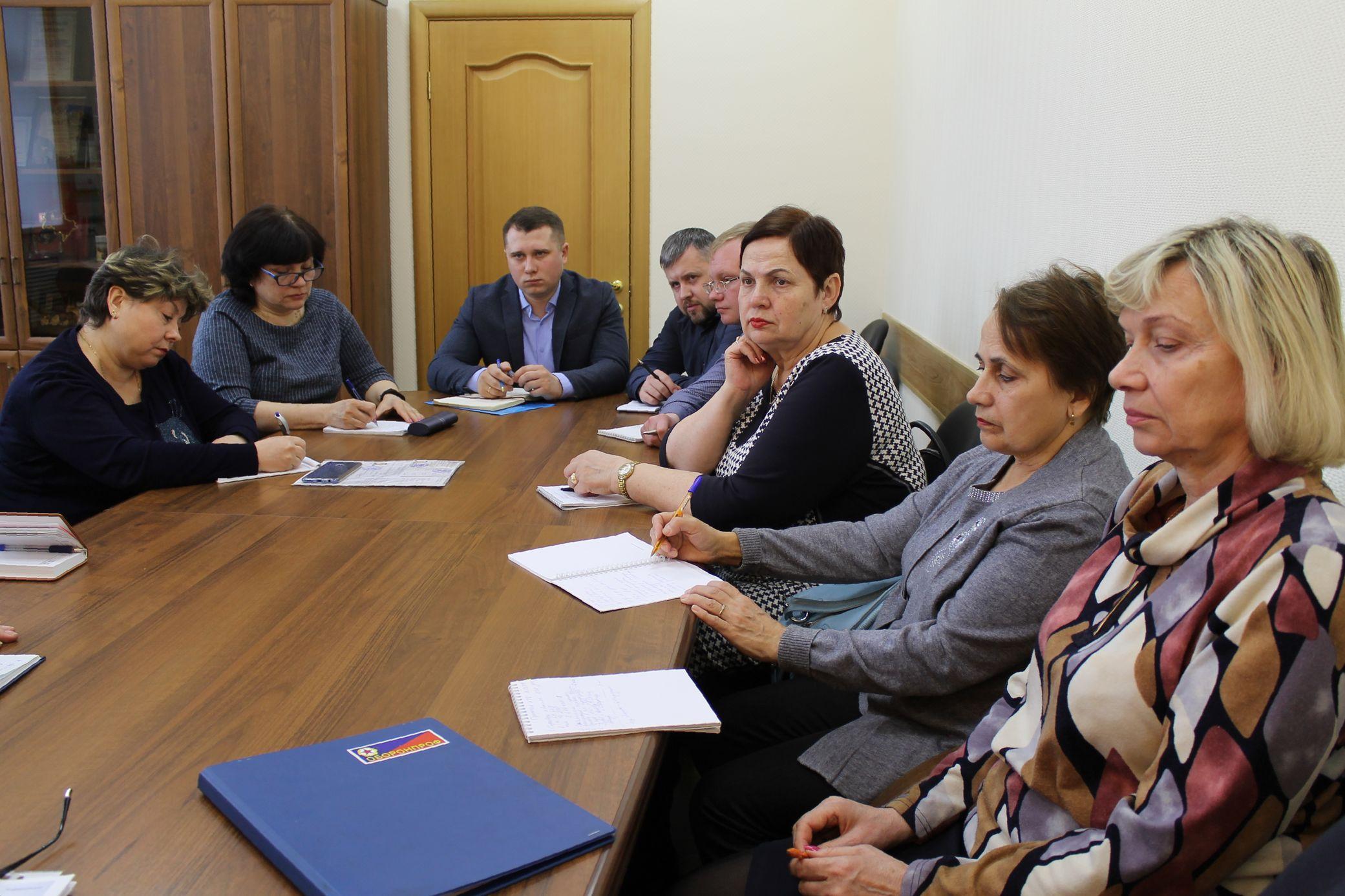 Профсоюзные активисты встретились с управляющим директором КБМ