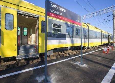 Дизель-поезд Голутвин – Озёры курсирует в штатном режиме