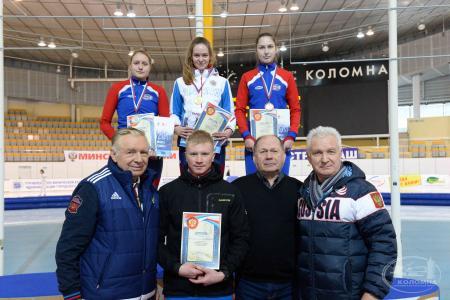 Всероссийские соревнования по конькобежному спорту на призы Валерия Муратова прошли в 44-й раз