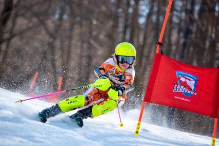 Коломенские горнолыжники выступили на Празднике Севера