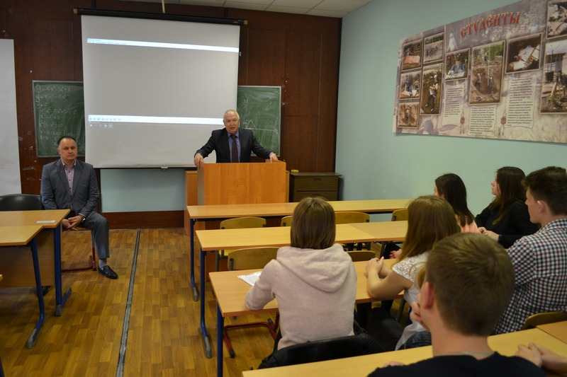 Коломенские полицейские провели профилактическую беседу со студентами