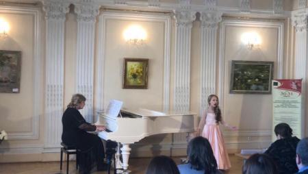 Юные вокалисты достойно представили Коломну на Первом Всероссийском вокально-инструментальном конкурсе на приз Е. Образцовой