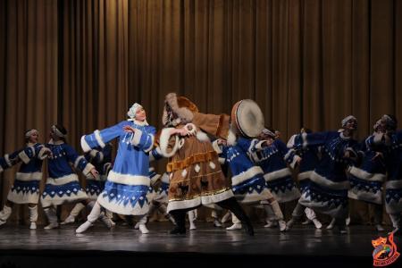 На сцене ДК «Цементник» выступили талантливые танцоры