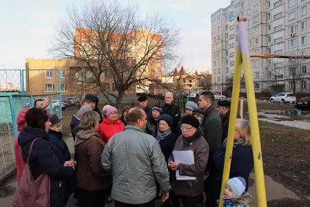 Как ремонтировать двор – обсуждают с жителями