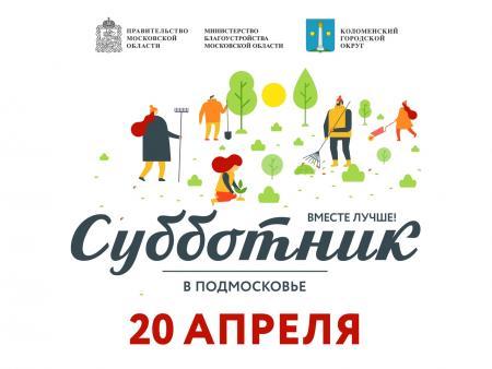 Коломенский городской округ готовится к общеобластному субботнику