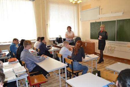 В рамках акции «Дети России-2019» сотрудники полиции в Коломне провели профилактическую беседу со школьниками