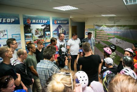 В Коломне готовят к открытию скейт-парк