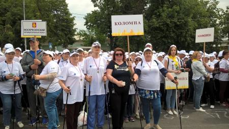 Коломенцы приняли участие в установлении мирового рекорда