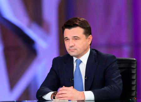 Прямой эфир с губернатором Подмосковья А.Ю. Воробьёвым
