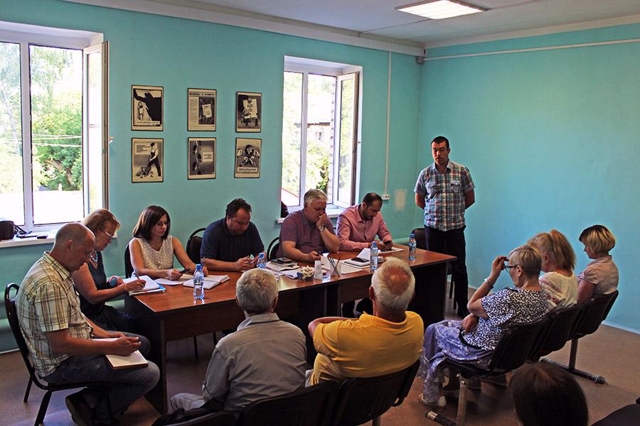Новости Коломны   Коммунальщики отчитались перед жителями Фото (Коломна)   iz zhizni kolomnyi