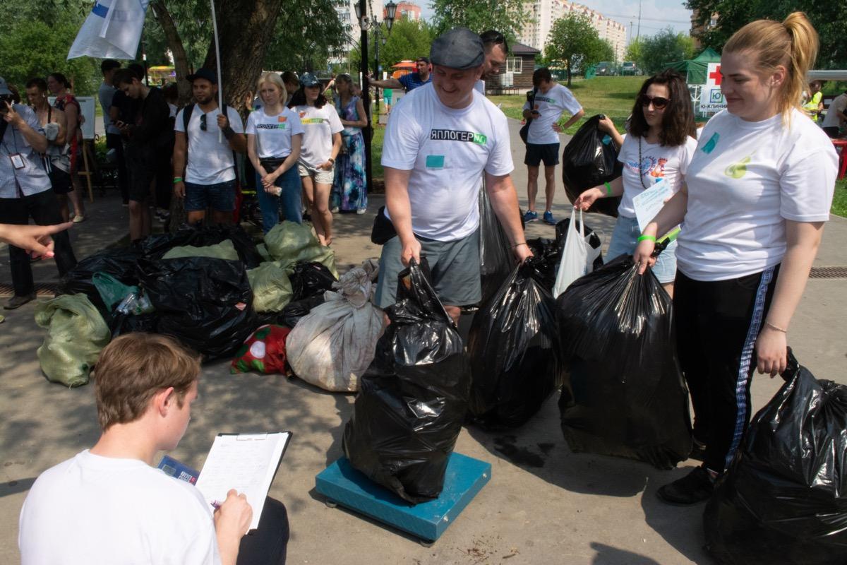 Новости Коломны   Порядка 7,5 тонны мусора раздельно собрали участники экологического забега «Чистое Подмосковье — к юбилею!» Фото (Коломна)   iz zhizni kolomnyi