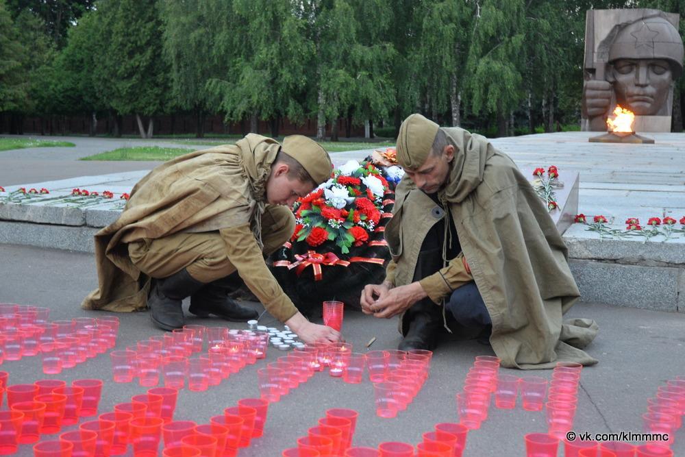 Новости Коломны   В память о защитниках Отечества в Коломне зажгли свечи Фото (Коломна)   iz zhizni kolomnyi