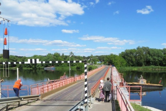 Новости Коломны   Движение через Черкизовский мост частично закроют Фото (Коломна)   iz zhizni kolomnyi