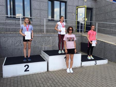 Коломенцы приняли участие в областном первенстве по лёгкой атлетике