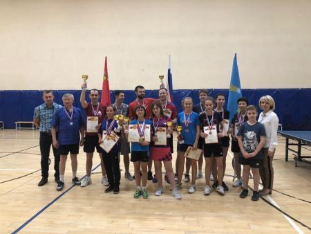 Итоги Открытого Чемпионата Коломенского городского округа по настольному теннису среди мужчин и женщин