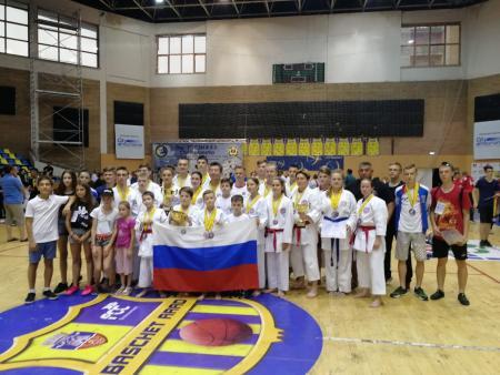 Коломенские спортсмены завоевали 9 медалей на европейском турнире