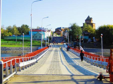 Бобреневский мост закрыт в связи с низким уровнем воды