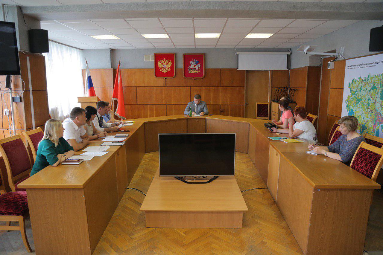 Глава Коломенского городского округа провел очередной личный прием предпринимателей