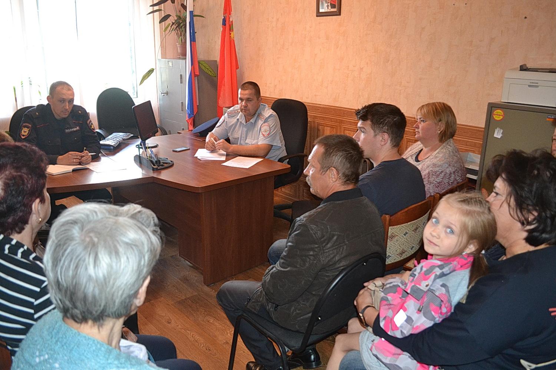 Новости Коломны   Коломенские полицейские отчитались перед населением Фото (Коломна)   iz zhizni kolomnyi