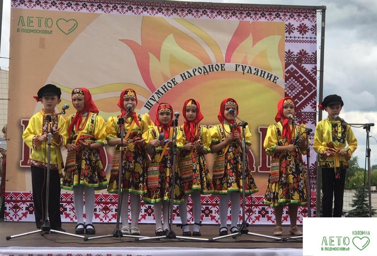 Народный фестиваль «Краснолетье» впервые прошел в Коломенском городском округе
